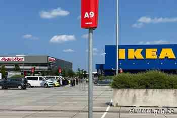 Ikea in Wilrijk opnieuw open na vals dreigbericht - Gazet van Antwerpen