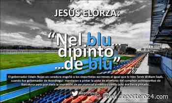 """JESÚS ELORZA: """"Nel blu dipinto de blu"""" - reportero24"""