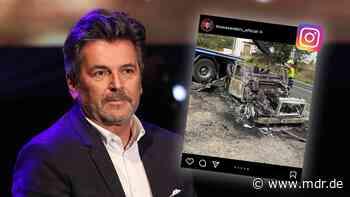 Nach Autobrand: Thomas Anders wird Bilder nicht los - MDR