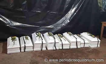 Entregan osamentas de ocho víctimas de guerra, en Cacaopera - Periódico Equilibrium