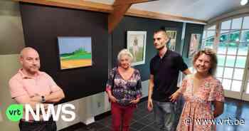 """Sint-Martens-Latem eert schilder Roger Raveel met tentoonstelling: """"Er is werk te zien van Raveel en van z'n ontdekker Hubert Malfait"""" - VRT NWS"""