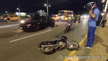 Accidente de tránsito en la autopista internacional de Villa del Rosario | Noticias de Norte de Santander, Colombia y el mundo - La Opinión Cúcuta