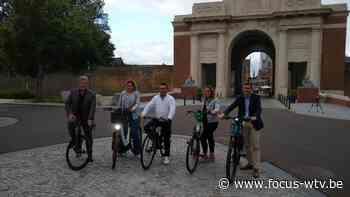 Ieper stelt E-bike Tour in Flanders Fields voor - Focus en WTV