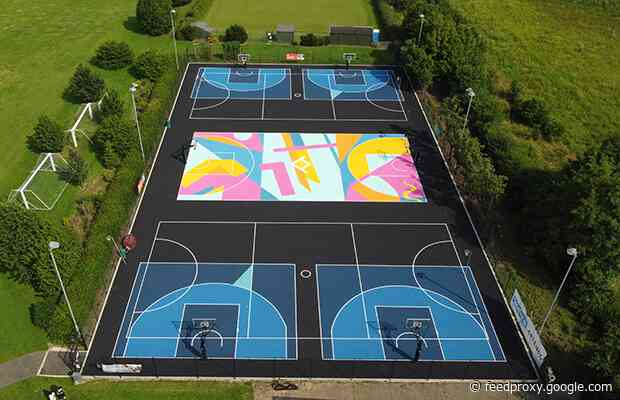 First bespoke 3×3 courts in the UK open at Writtle University College
