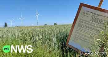 """Nieuwe aanvraag voor windturbines in Gingelom: """"Bezwaarschriften moeten nu opnieuw worden ingediend"""" - VRT NWS"""