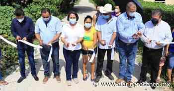 Dos nuevas obras en Comalcalco entrega la presidente municipal Rosa Margarita Graniel Zenteno - Diario Presente