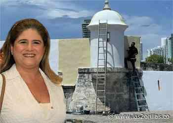 Los responsables de la pintada en las murallas de Cartagena - Las2orillas
