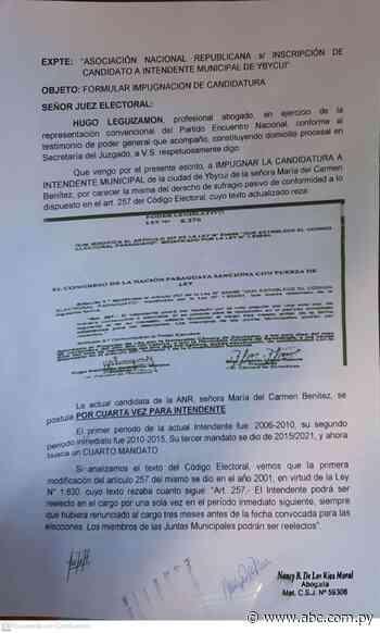Piden impugnar candidatura a intendente de Ybycuí - ABC Color
