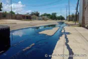 """Derrame afecta Cabimas: """"El petróleo corre frente a las casas"""" - Noticiero Digital"""