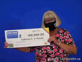 Thorold Woman Wins $100000 With Encore - 101.1 More FM
