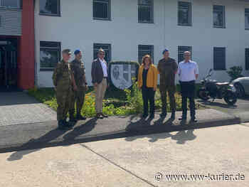 Weeser und Müller besuchen das Sanitätsregiment 2 in Rennerod - WW-Kurier - Internetzeitung für den Westerwaldkreis