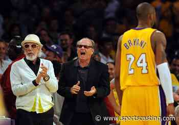 Jack Nicholson Totally Hijacked Kobe Bryant's First NBA All-Star Game Interview on National TV - Sportscasting