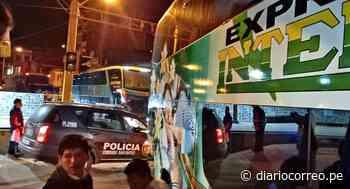 Carretera Central: niño muere por pesada roca que cayó sobre bus en el que viajaba - Diario Correo