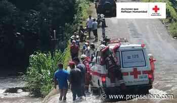 Dos personas caen en un río en Coatepeque cuando intentaban cruzar puente - Prensa Libre