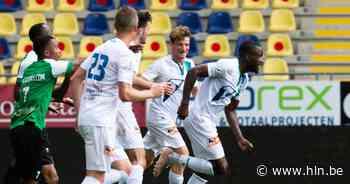 """KVK Tienen schakelt Ganshoren uit in Croky Cup na winninggoal van Jesse Mputu: """"Momenten als deze heb ik echt gemist"""" - Het Laatste Nieuws"""