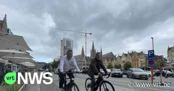 Nieuwe fietsroute in Ieper voorgesteld: speciaal voor de e-bikes - VRT NWS