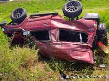 Cinco muertos dejó accidente de tránsito en la vía Cantaura-El Tigre - Últimas Noticias