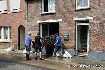 """Ook in Vlaanderen wordt ravage pijnlijk duidelijk na overstroming: """"Het ergste? Dat ik foto's van mijn overled - Het Nieuwsblad"""