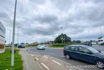 Rotonde Meulebekestraat wordt gerenoveerd: tot eind dit jaar verkeershinder - Het Nieuwsblad