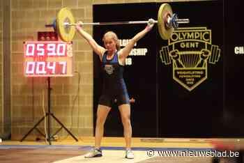 Annelien Vandenabeele pakt brons bij de U17