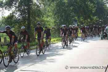 Vier dagen fietsen voor Olivia Fund