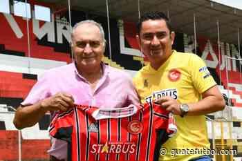 Coatepeque presentó a su nuevo entrenador – Guatefutbol.com - Guatefutbol.com