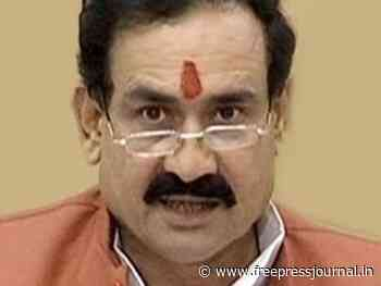 Bhopal: No one will be allowed to breach communal harmony, says home minister Narottam Mishra - Free Press Journal