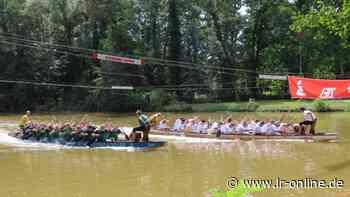 Drachenbootrennen in Spremberg: 18 Teams jagen vor 1000 Besuchern über die Spree - Lausitzer Rundschau