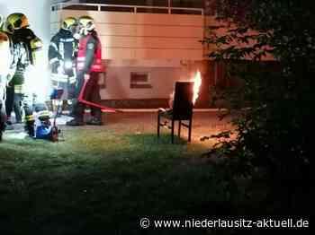 Zwei Verletzte bei Kellerbrand in Spremberg - Niederlausitz Aktuell - NIEDERLAUSITZ aktuell