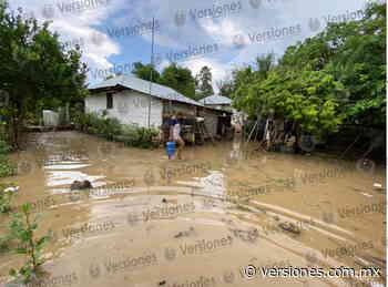 VIDEO: Se desborda el río Calabozo en Tantoyuca; por el momento, 8 familias afectadas - Versiones