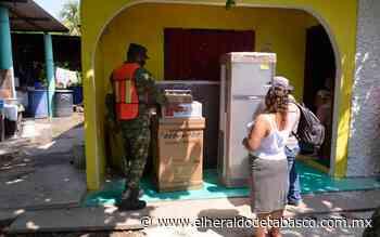 Entérate dónde entregarán enseres este miércoles en Comalcalco - El Heraldo de Tabasco