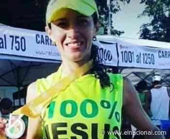 Atleta Alexaida Guédez murió durante una carrera en Naguanagua - El Nacional