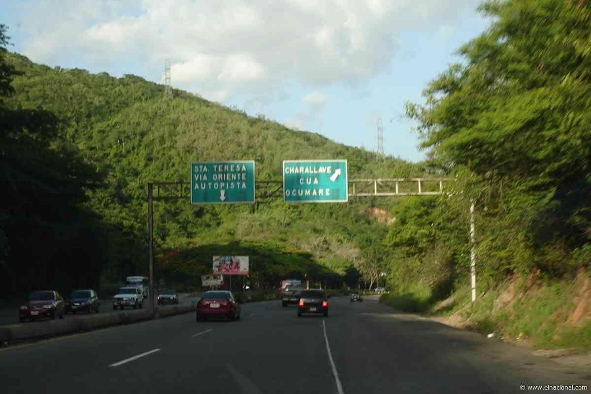 Encontraron cuatro cadáveres en la autopista Charallave – Santa Teresa del Tuy - El Nacional