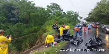 Lluvias provocan derrumbe en Soyapango - La Prensa Grafica