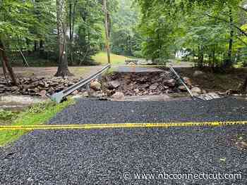 'We Grin and Bear It Now': Bolton Homes Cut Off After Henri Washes Out Bridge - NBC Connecticut