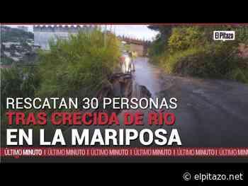 Los Teques | Rescatadas 30 personas tras la crecida de río en La Mariposa - El Pitazo