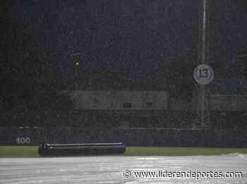 Un nuevo duelo fue suspendido por lluvia en Maracay - Líder en Deportes