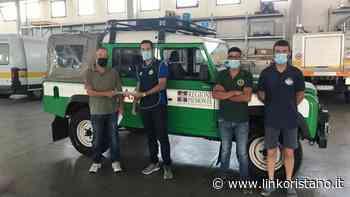 Incendi, a Santu Lussurgiu, Tresnuraghes e Cuglieri i tre mezzi inviati dalla Regione Piemonte - Linkoristano.it