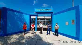 Lambayeque: reconstruyen colegio de Mochumí con S/ 1,9 millones - LaRepública.pe