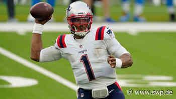 New England Patriots NFL: Zwangspause für ungeimpften Quarterback Cam Newton als Chance für Mac Jones - SWP