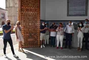 El olímpico Fernando Alarza palpa el cariño de sus paisanos de Talavera en la recepción municipal - La Voz de Talavera Digital