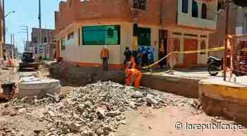 Lambayeque: obras de saneamiento causan malestar en vecinos de Mórrope - LaRepública.pe