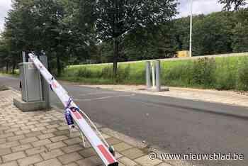 Slagboom tussen Zandhoven en Vorselaar alweer stukgereden: nu al zeven keer beschadigd