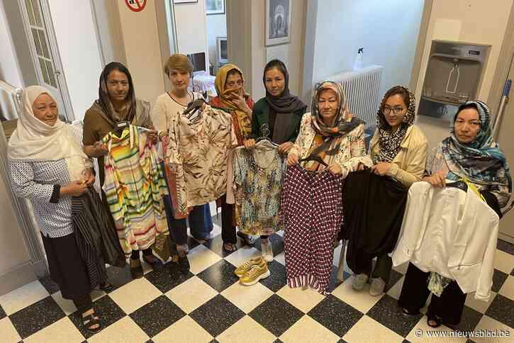 Speelgoed, schooltassen en 41.000 euro aan Belgische merkkledij: solidariteit uit heel het land voor gevluchte Afghaanse vrouwen