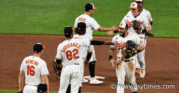Baltimore Orioles End Losing Streak With Help From Some Sage