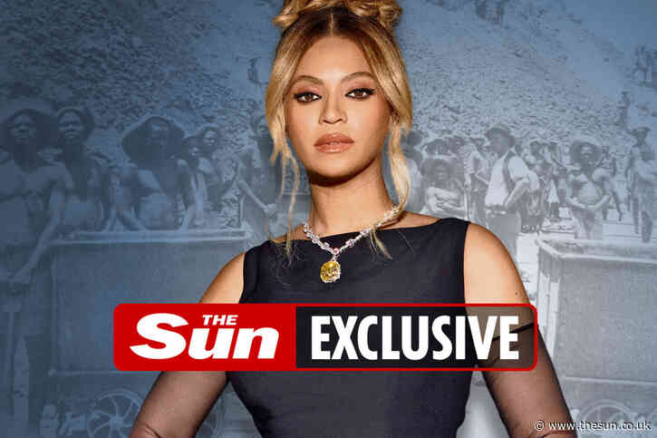 Beyonce 'disappointed and angry' after unwittingly wearing £22.9million gem labelled a 'blood diamond'