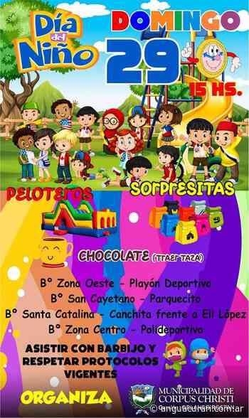 Cierre del mes de la niñez en Corpus Christi - Agencia de Noticias Guacurari