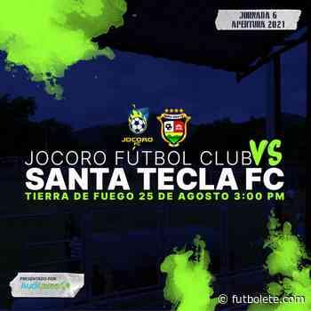 ¿Dónde ver en vivo Jocoro vs Santa Tecla por la fecha 6 de la Primera División de El Salvador? - Futbolete