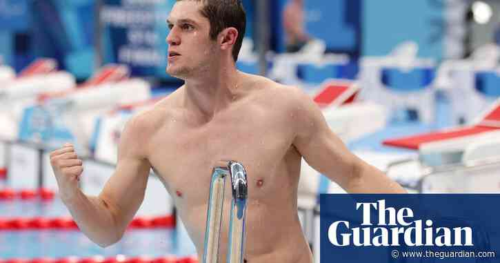 Reece Dunn and Hannah Russell give ParalympicsGB golden double in pool