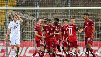 TSV 1860 Rosenheim - FC Bayern II im Live-Ticker: Setzen die kleinen Bayern ihren Höhenflug fort?